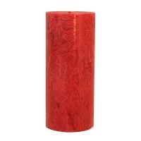 Kerzenfarm Kaars stomp donkerrood 135 x 64 stearine geurloos