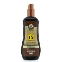 Australian Gold Spray gel met bronzer SPF15