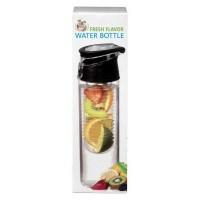 Fresh Flavor Water bottle zwart
