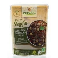 Primeal Recette Veggie linzen en erwten