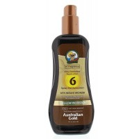 Australian Gold Spray gel met bronzer SPF6