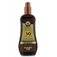 Australian Gold Spray gel met bronzer SPF30