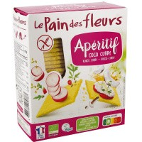 Pain Des Fleurs Knackebrod coco curry