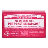 DR Bronners Barsoap rose