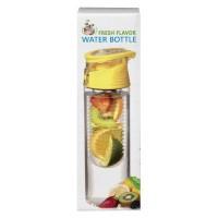 Fresh Flavor Water bottle geel