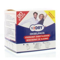 1-2DRY Okselpads small wit