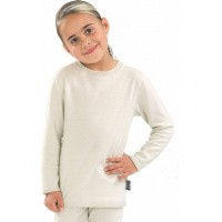 Best4body Verbandshirt kind wit lange mouw 152