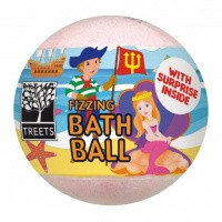 Treets Bath ball with surprise boy/girl