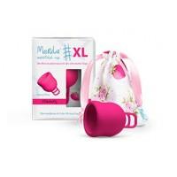 Merula Menstruatie cup XL strawberry roze