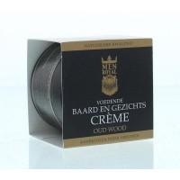 Men Royal Baard creme oud wood
