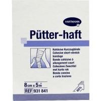 Hartmann Putter haft drukverband 8 cm x 5 m