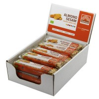 Mattisson Organic energy bar almond sesame 40 gram