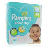 Pampers Baby dry junior plus midpack 5+