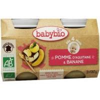 Babybio Dessert appel banaan 130 gram