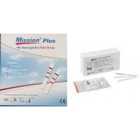 Mission Plus Hemaglobine teststrips en capilairen