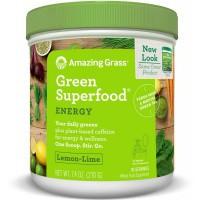 Amazing Grass Energy lemon lime green superfood