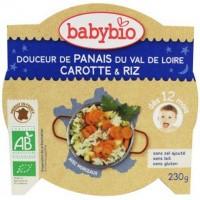 Babybio Mon ptit plat slaap lekker menu pastinaak wortel r