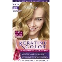 Schwarzkopf Keratine Color Haarverf 8.0 Natuurlijk Blond