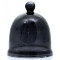 Terre Doc Patchouli kleine glazen stolp zwart