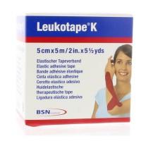 Leukotape K 5 m x 5.0 cm rood