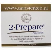2-Prepare Aansterken L Glutamine poeder EGCG sachets 150 mg
