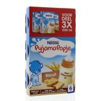 Nestle Pyjamapapje biscuit 250 ml