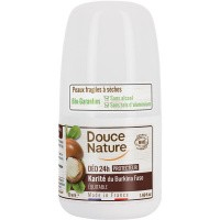 Douce Nature Deodorant roll on karite 24h