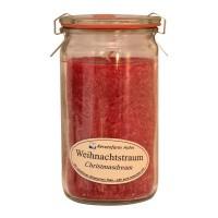Kerzenfarm Geurkaars weckglas kerstdroom