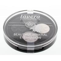 Lavera Eyeshadow beautiful mineral quattro smoky grey 01