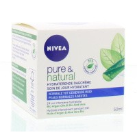 Nivea Pure & natural dagcreme normale huid