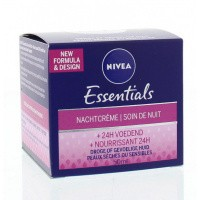 Nivea Essentials nachtcreme droge/gevoelige huid