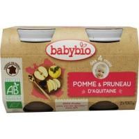 Babybio Dessert appel pruim 130 gram