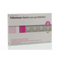 Apotex Foliumzuur 0.5 mg