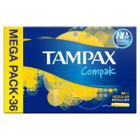 Tampax Tampons compak regular