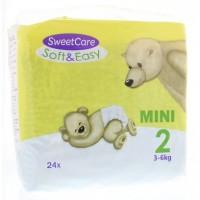 Sweetcare Luiers soft & easy mini nr 2 3-6kg