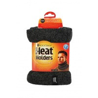 Heat Holders Mens neck warmer one size charcoal