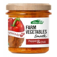 Allos Farm vegetables smooth paprika & chili