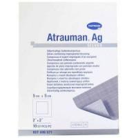 Hartmann Atrauman AG zalfkompres zilver 5x5