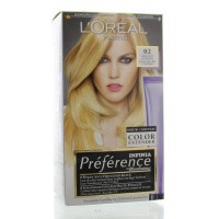 Loreal Preference 02 superlicht goudblond