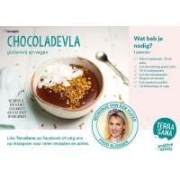 Terrasana Receptenkaart A5 chocoladevla