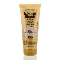 Garnier Bodymilk onder de douche argan camelia olie