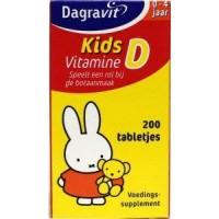 Dagravit Vitamine D tablet kids
