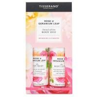 Tisserand Body lotion & body wash roos & geranium