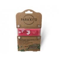 Parakito Armband design roze met 2 tabletten