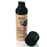 Lavera Liquid foundation honey sand 03