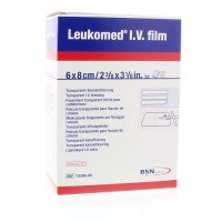 Leukomed IV film 5.8 x 8 cm