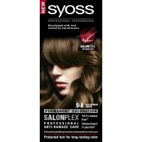 Syoss Color baseline 5-8 hazelnootbruin haarverf