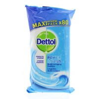Dettol Power & fresh wipes ocean