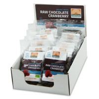Mattisson Cranberries snack raw choco 35 gram