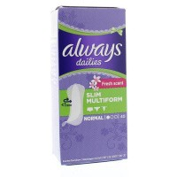 Always Multiform fresh scent liner